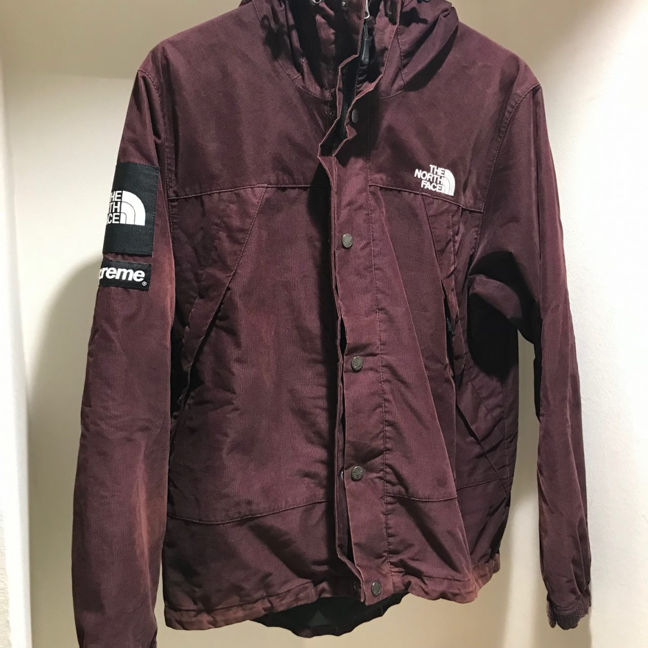 SUPREME×THE NORTH FACE 12AW Mountain Shell Jacket corduroy